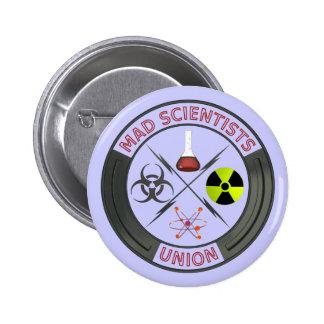 Mad Scientist Union 2 Inch Round Button