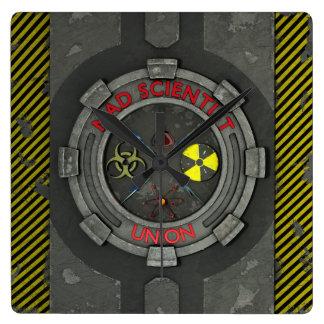 Mad Scientist Union Clocks