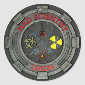 Mad Scientist Union Sticker