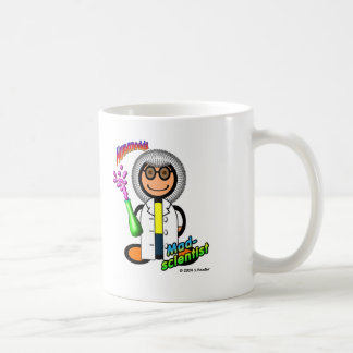 Mad Scientist (with logos) Coffee Mug