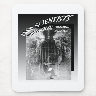 Mad Scientists International-Nicola Tesla Mouse Pad
