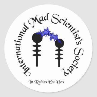 Mad Scientists Society  Sticker