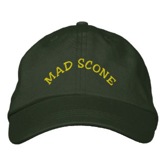 Mad Scone: Personalized Adjustable Hat Embroidered Baseball Cap