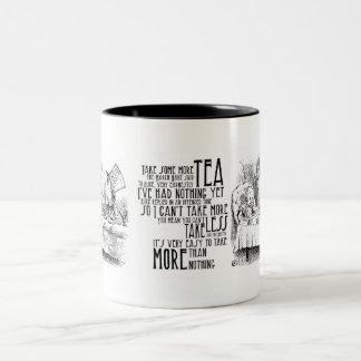 """Mad Tea"" Two-Tone Coffee Mug"