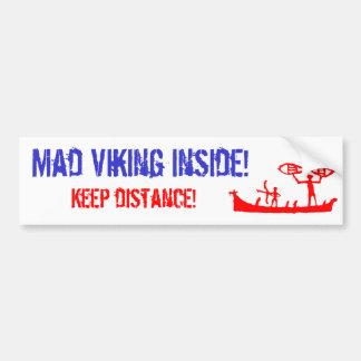 Mad Viking Bumper Sticker