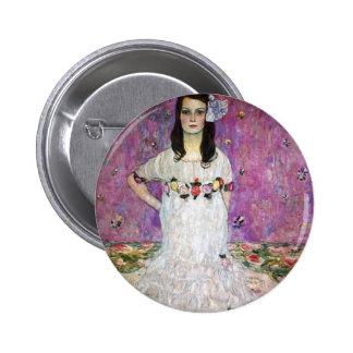 Mada Primavesi by Gustav Klimt Buttons