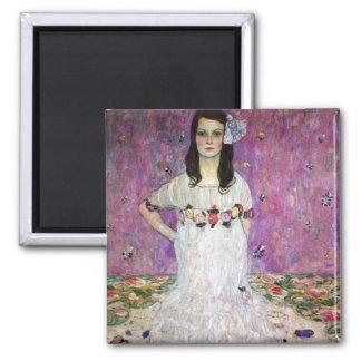 Mada Primavesi by Gustav Klimt Magnets