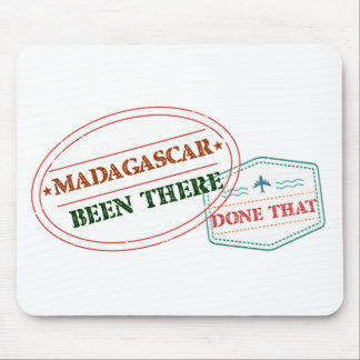 Madagascar Been There Done That Mouse Pad