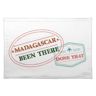 Madagascar Been There Done That Placemat
