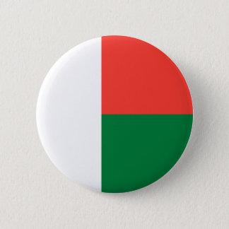Madagascar Flag 2 Inch Round Button