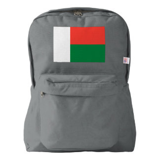 Madagascar Flag Backpack