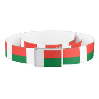Madagascar Flag Belt