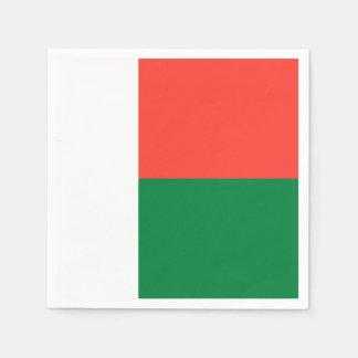 Madagascar Flag Disposable Napkins