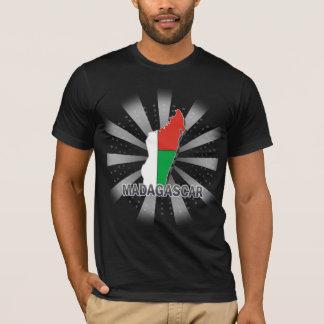 Madagascar Flag Map 2.0 T-Shirt