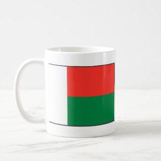 Madagascar Flag ~ Map Mug