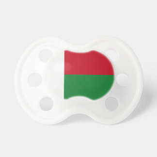 Madagascar flag pacifiers