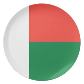 Madagascar Flag Party Plates