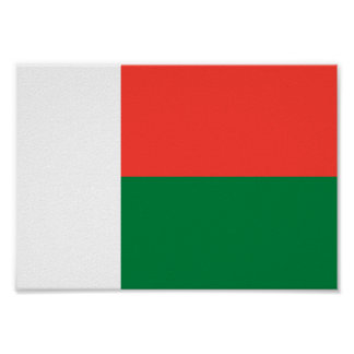Madagascar Flag Poster