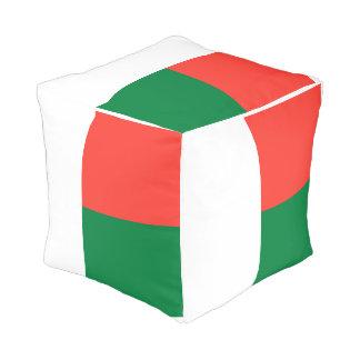 Madagascar Flag Pouf