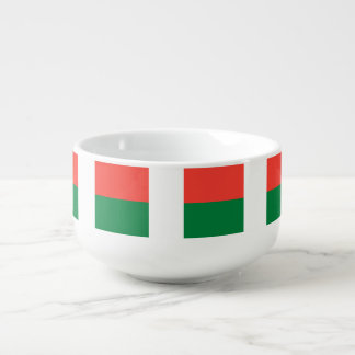 Madagascar Flag Soup Mug