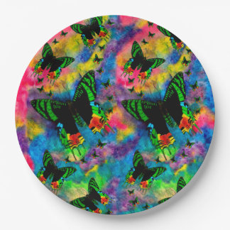 Madagascar Magic Paper Plates 9 Inch Paper Plate