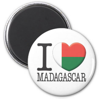 Madagascar Fridge Magnet