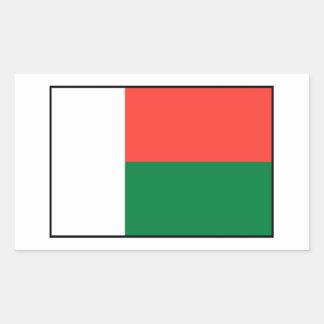Madagascar – Malagasy Flag Sticker