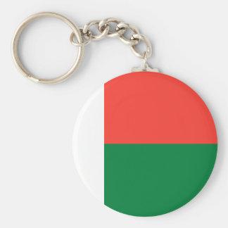 Madagascar National World Flag Keychain