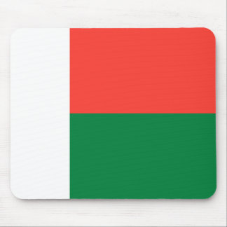 Madagascar National World Flag Mouse Pad