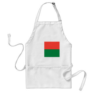 Madagascar National World Flag Standard Apron