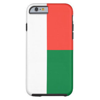 Madagascar National World Flag Tough iPhone 6 Case