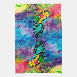 Madagascar Splash Cropped Hand Towel