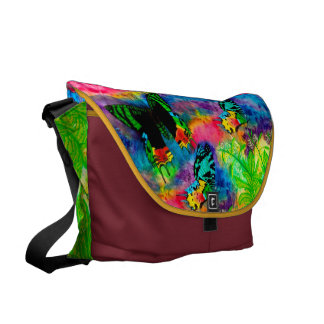 Madagascar Splash Large Messenger Bag