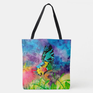 Madagascar Splash Profile Tote Bag