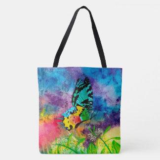 Madagascar Splash Profile Tote Bag