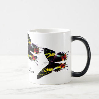 Madagascar Sunset Moth 11 Oz Magic Heat Color-Changing Coffee Mug