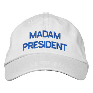 Madam President Embroidered Hat