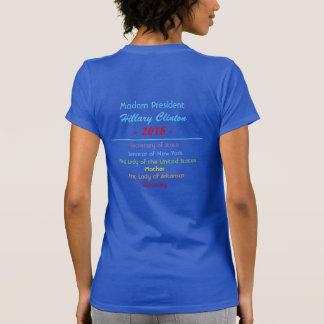 Madam President Secretary of State Senator T-Shirt