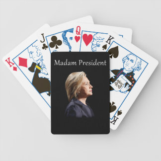 Madam President Style 2 Bicycle Playing Cards