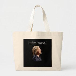 Madam President Style 2 Large Tote Bag