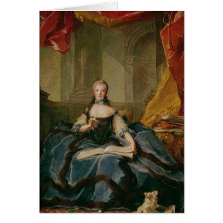 Madame Adelaide de France  in Court Dress, 1758 Card