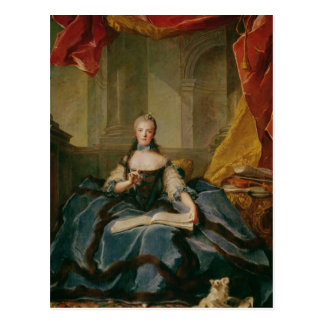 Madame Adelaide de France  in Court Dress, 1758 Postcard