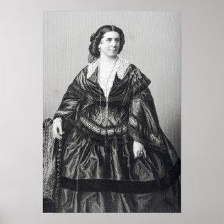 Madame Anna Bishop Poster