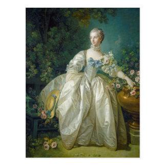 Madame Bergeret, C. 1766 (huile sur la toile) Cartes Postales