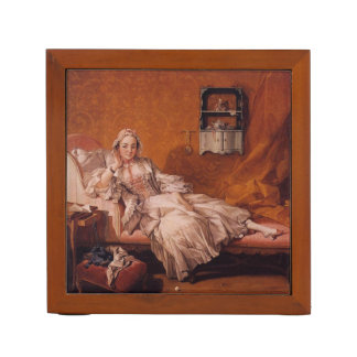 Madame Boucher by Francois Boucher Desk Organizer
