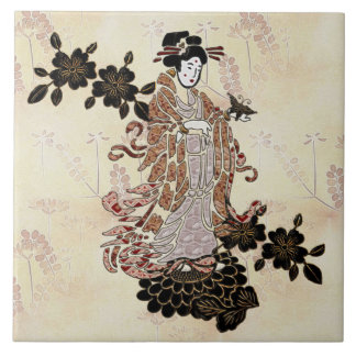 Madame Butterfly Ceramic Tiles