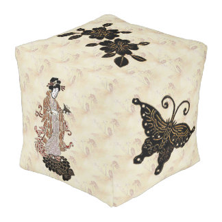 Madame Butterfly Pouf