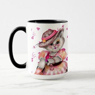 MADAME CAT CARTOON 15 oz Combo Mug