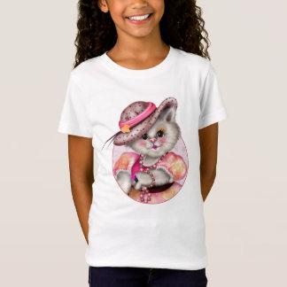 MADAME CAT  CARTOON Girls' Fine Jersey T-Shirt 2