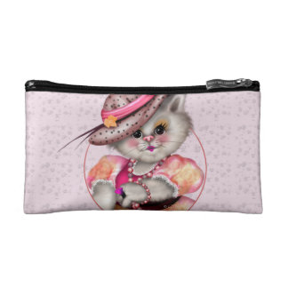 MADAME CAT Small Cosmetic Bag